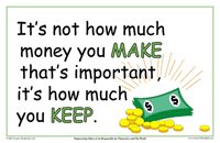 It's Not How Much Money You Make That's Important, It's How Much You Keep