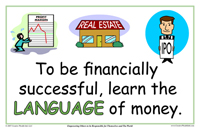To Be Financially Successful, Learn The Langugae Of Money