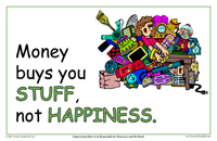 Money Buys You Stuff, Not Happiness