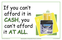 If You Can't Afford It In Cash, You Can't Afford It At All