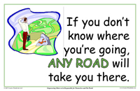 If You Don't Know Where You Are Going, Any Road Will Take your There
