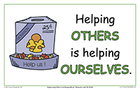 Helping Others Is Helping Ourselves