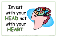 Invest With Your Head Not With Your Heart