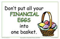 Dont Put all Your Financial Eggs Into One Basket