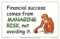 Financial Success Comes From Managing Risk, Not Avoiding It