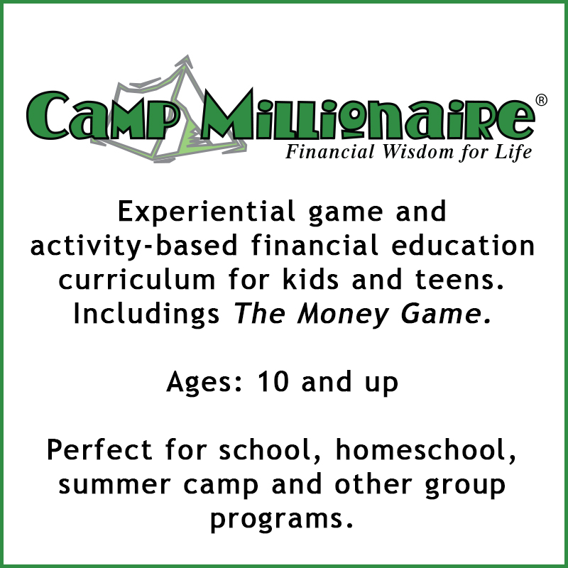 camp millionaire financial education curriculum